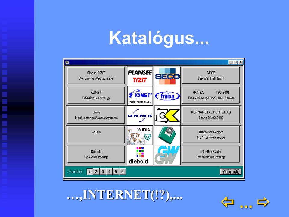 Katalógus... ...  …,INTERNET(!?),...