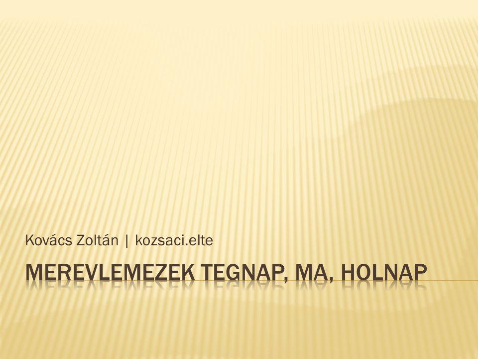 Kovács Zoltán | kozsaci.elte