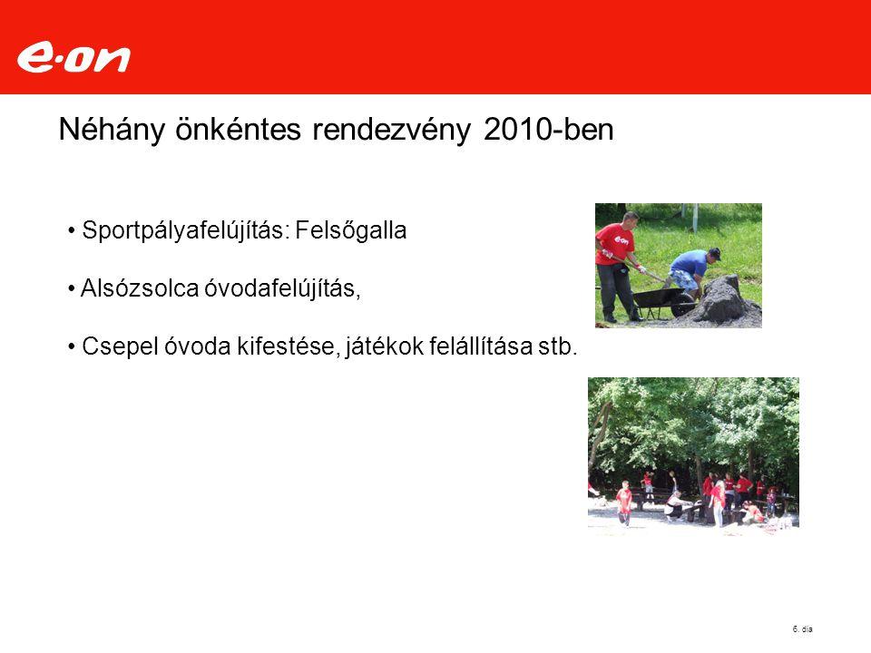 Néhány önkéntes rendezvény 2010-ben 6.