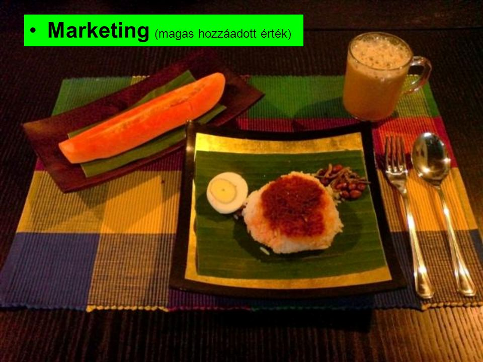 Marketing (magas hozzáadott érték)