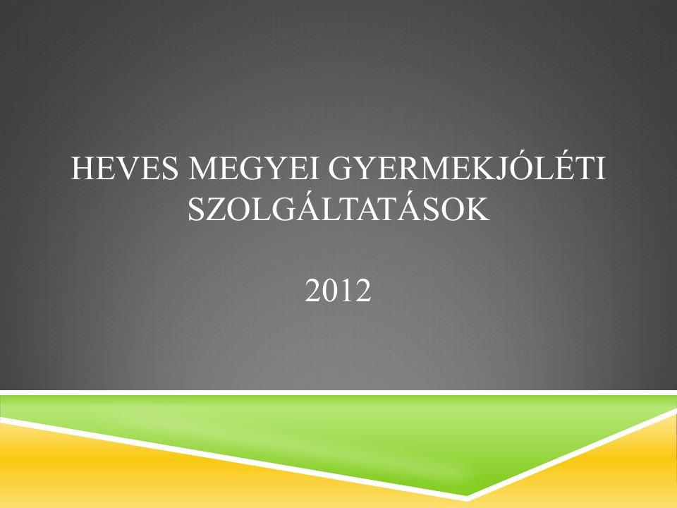 HEVES MEGYEI GYERMEKJÓLÉTI SZOLGÁLTATÁSOK 2012