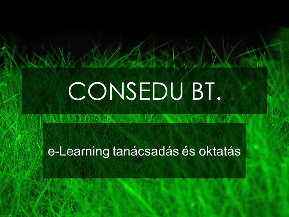 CONSEDU BT. e-Learning tanácsadás és oktatás