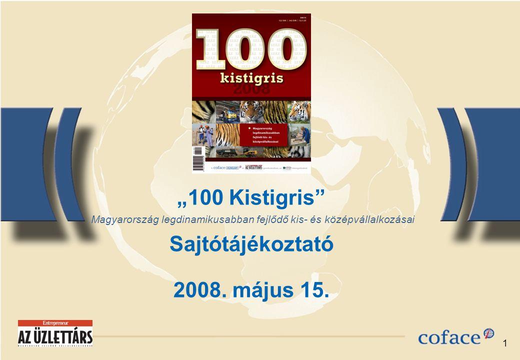 """1 """"100 Kistigris Sajtótájékoztató 2008. május 15."""