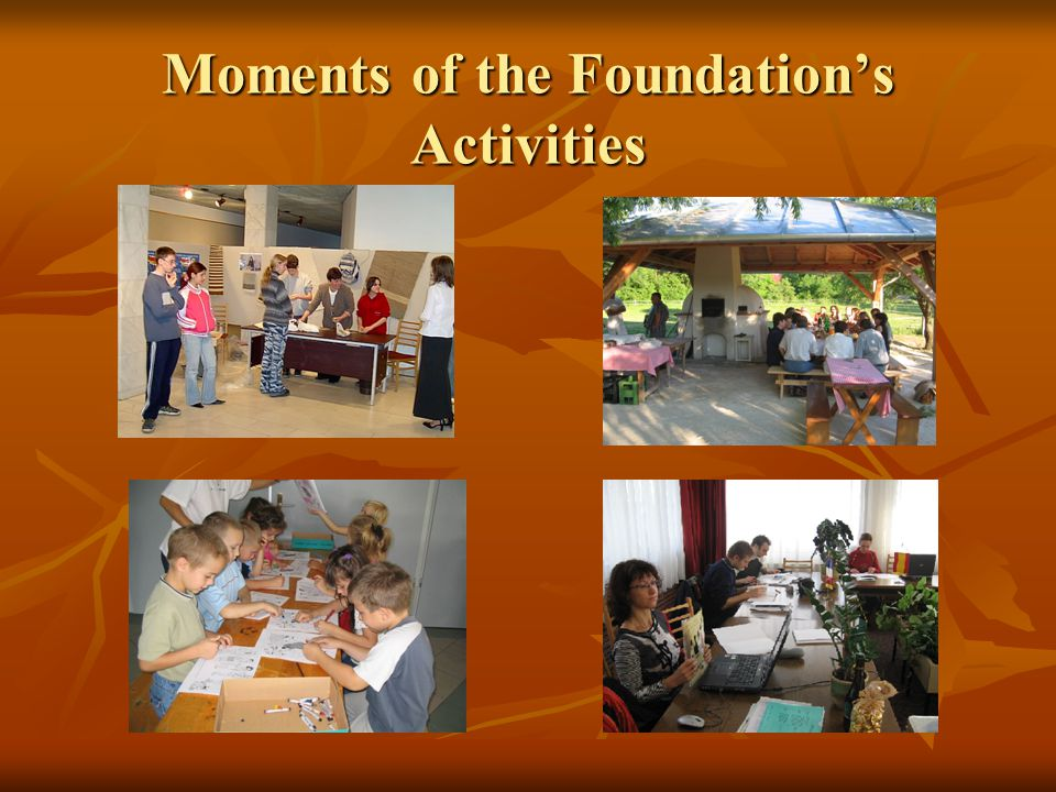 Moments of the Foundation's Activities