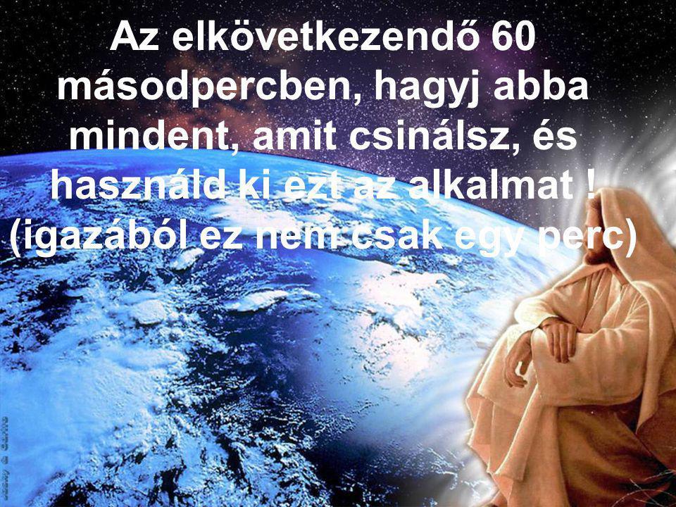 1 perc Isten jelenlétében / 1 perc Istennel