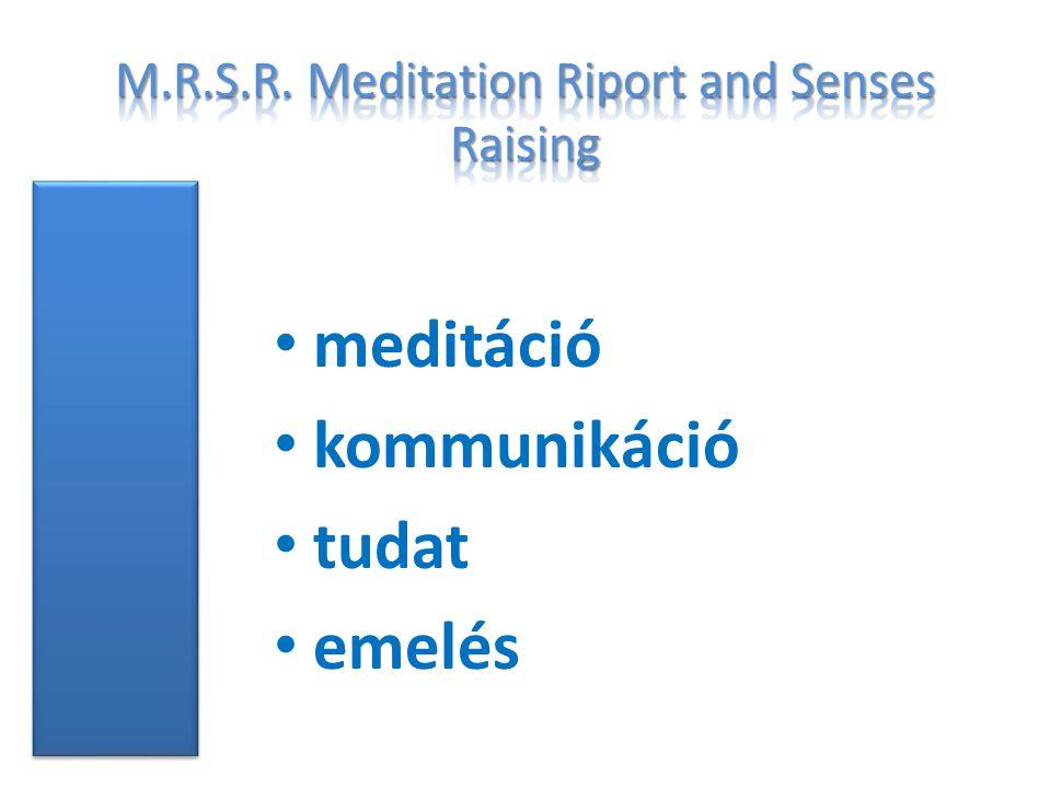 meditáció kommunikáció tudat emelés