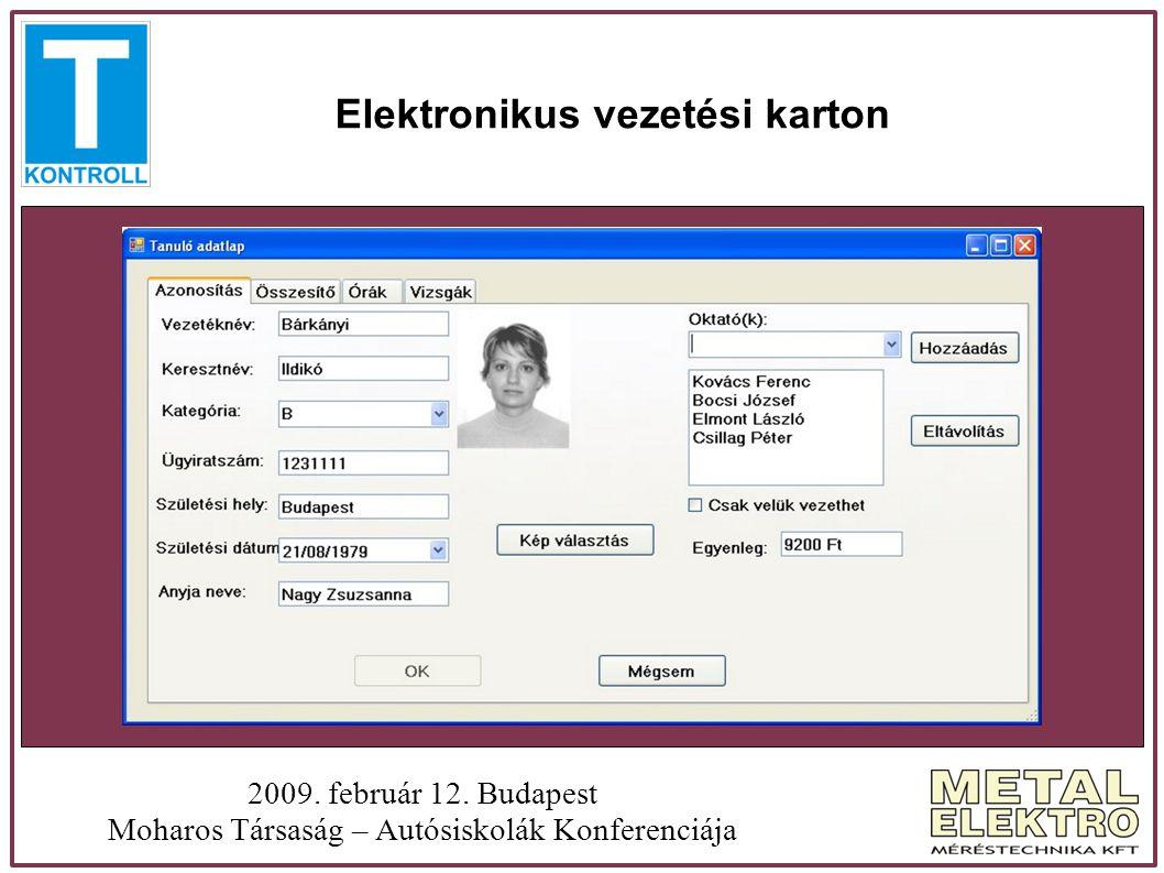 Mit nyújt a T kontroll a tanulónak.2009. február 12.