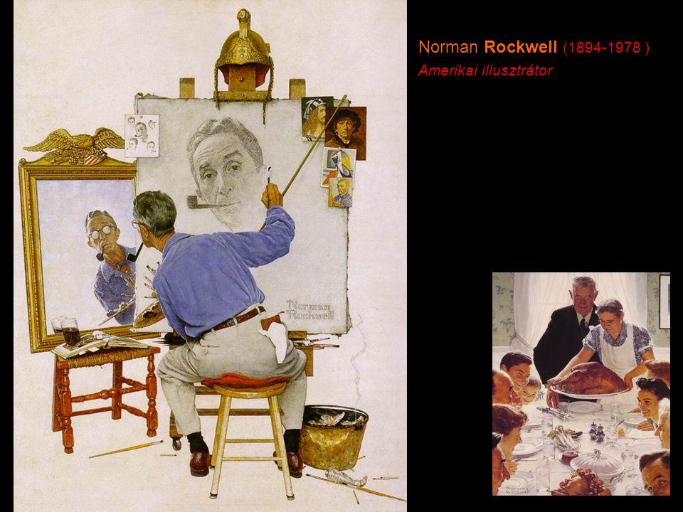 Norman Rockwell (1894-1978 ) Amerikai illusztrátor