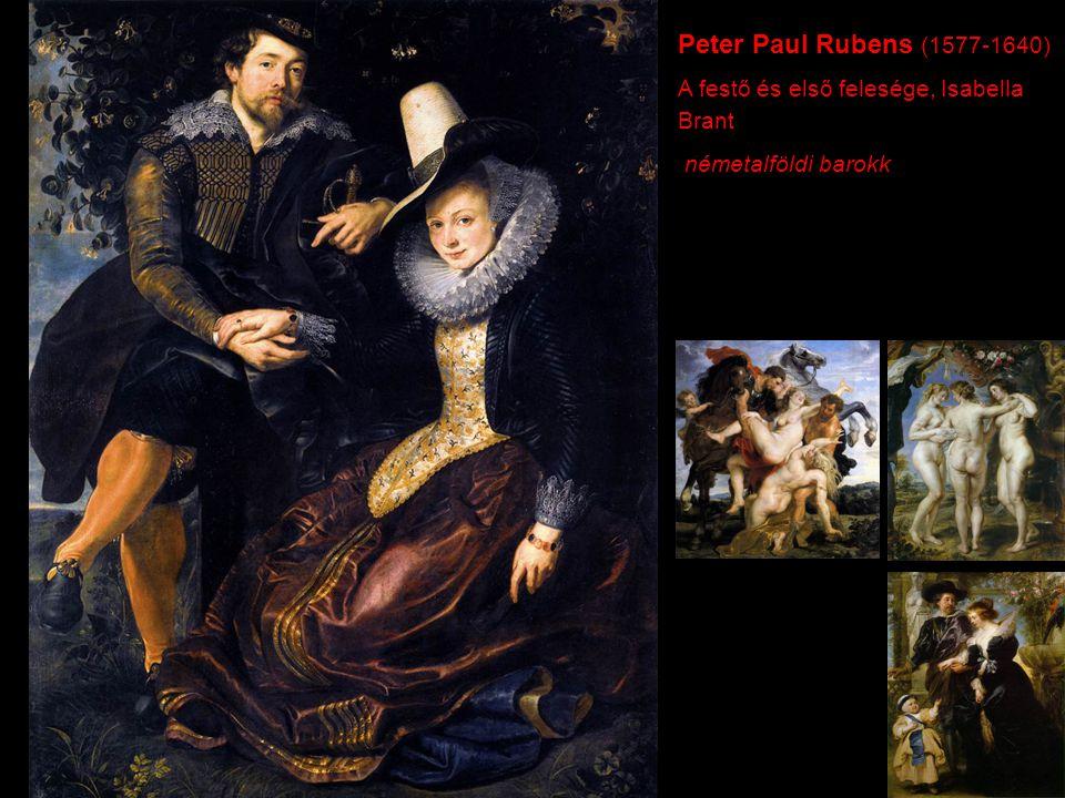 Peter Paul Rubens (1577-1640) A festő és első felesége, Isabella Brant németalföldi barokk