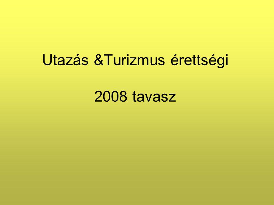 U&T érettségi Központilag akkreditált érettségi vizsgatárgy (Ady Endre Gimn., Ráckeve Csak k özépszintű.