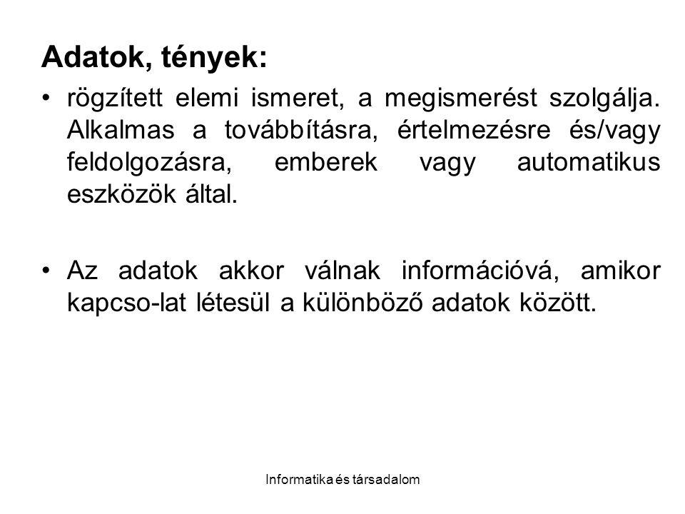 Informatika és társadalom Toyotizmus Olyan vertikálisan dezintegrált nagyvállalati rendszert jelent amelynek egyes szintjeit pl.