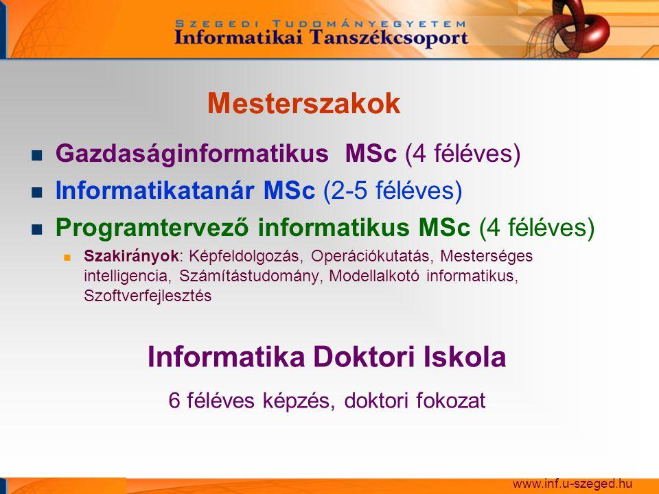 Hallgatók munkáiból www.inf.u-szeged.hu
