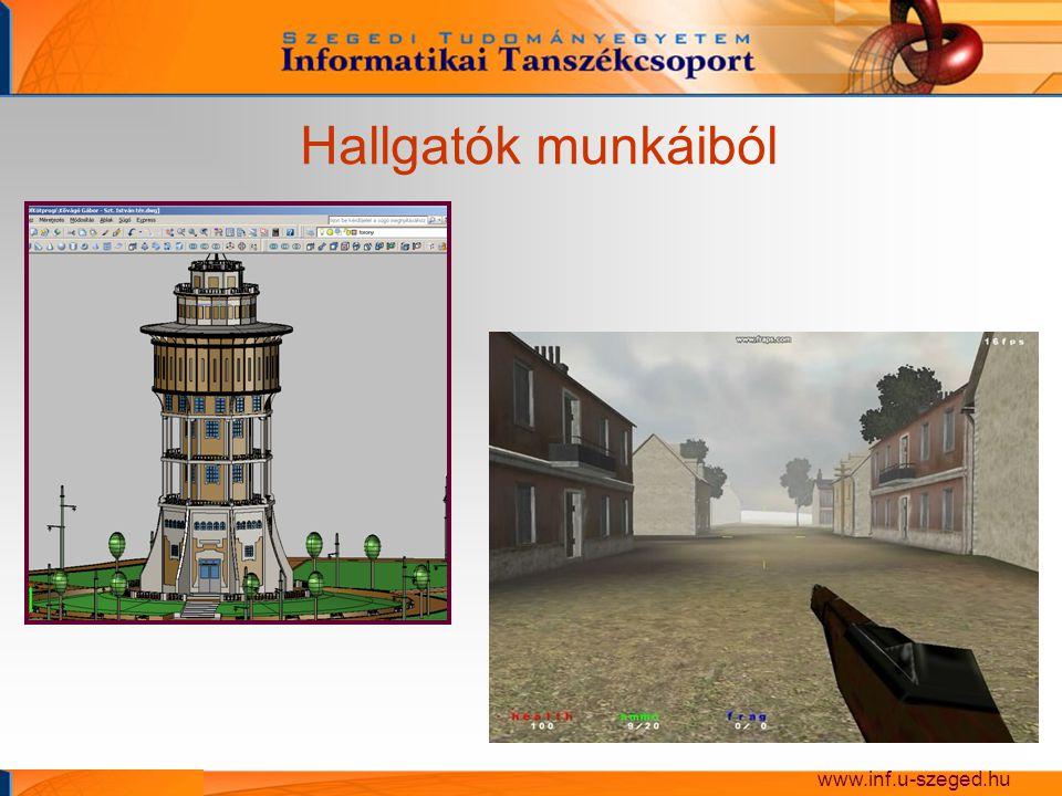 Egyetemi kutatás Műtétek tervezése és biomechanikai analízise www.inf.u-szeged.hu