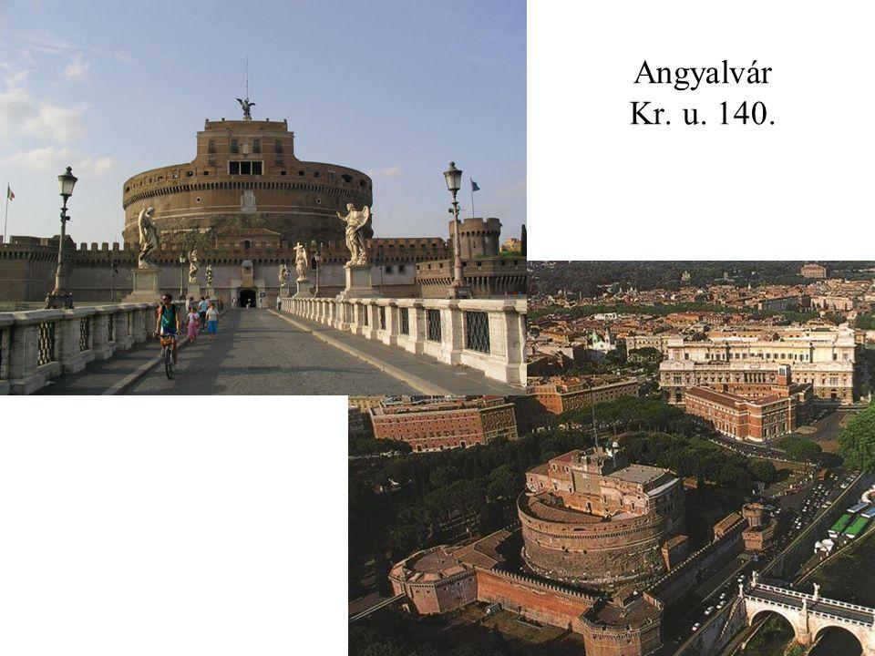 Angyalvár Kr. u. 140.