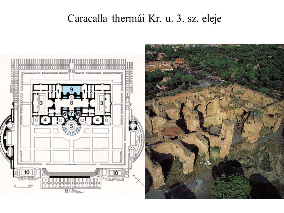 Caracalla thermái Kr. u. 3. sz. eleje