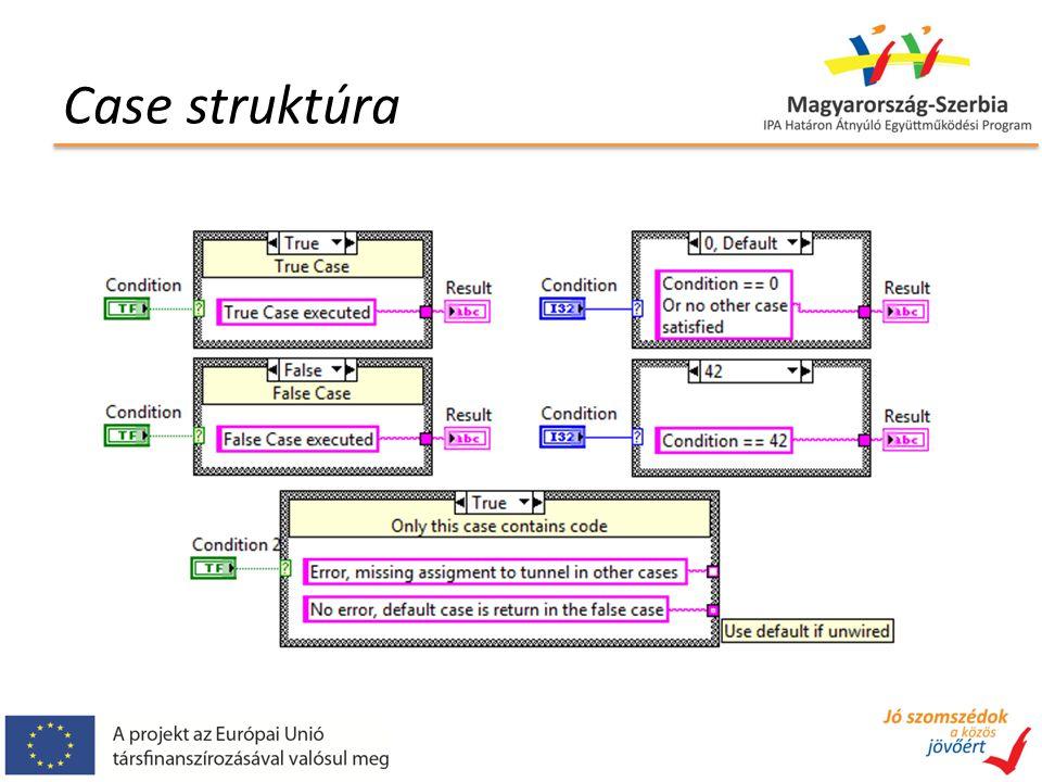 Case struktúra