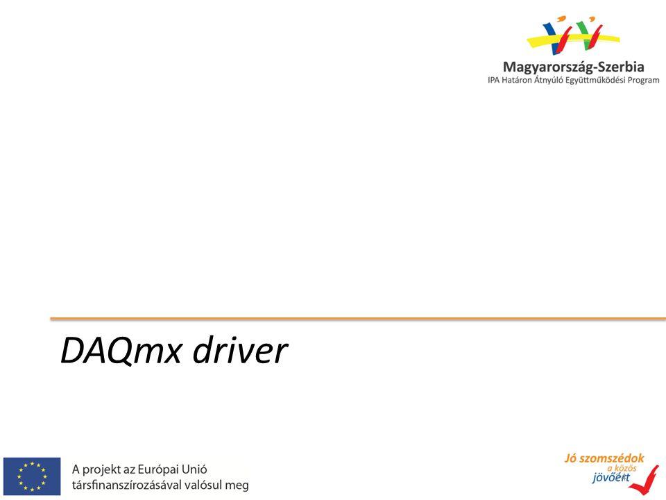 DAQmx driver 24