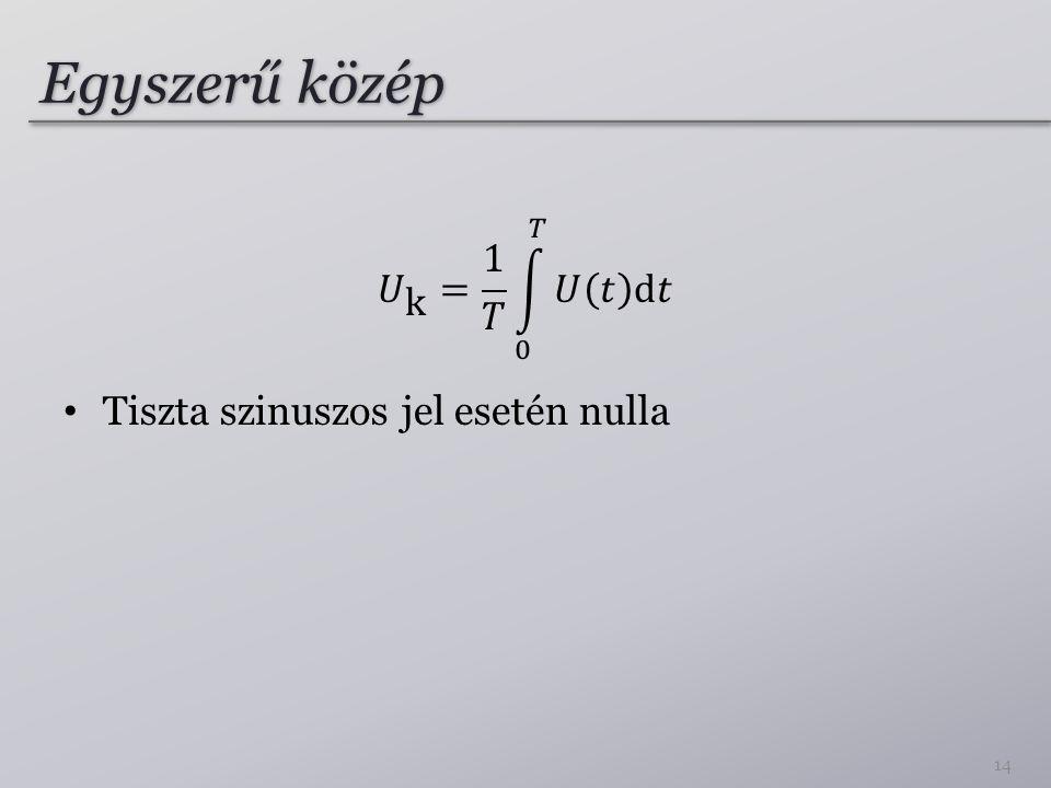 Egyszerű közép 14