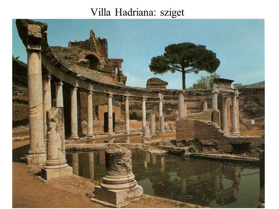 Villa Hadriana: sziget