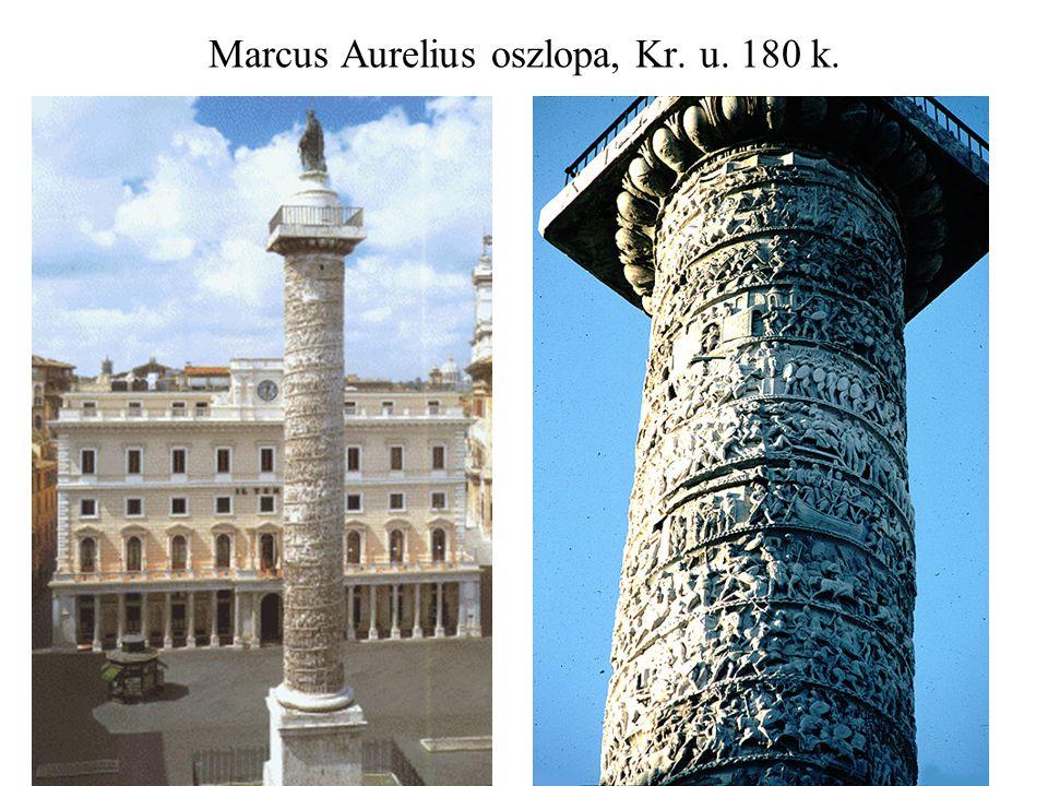 Marcus Aurelius oszlopa, Kr. u. 180 k.
