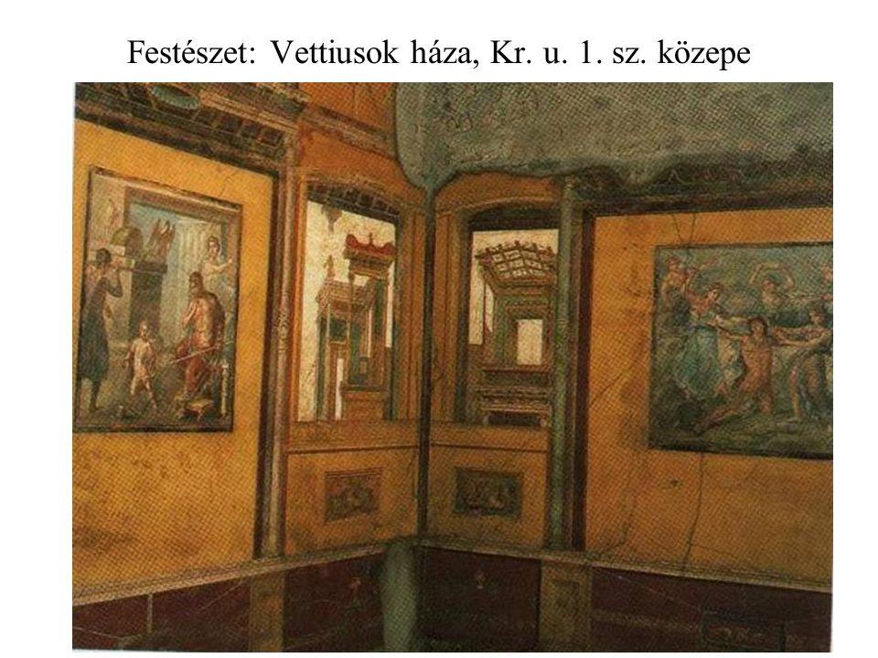 Festészet: Vettiusok háza, Kr. u. 1. sz. közepe