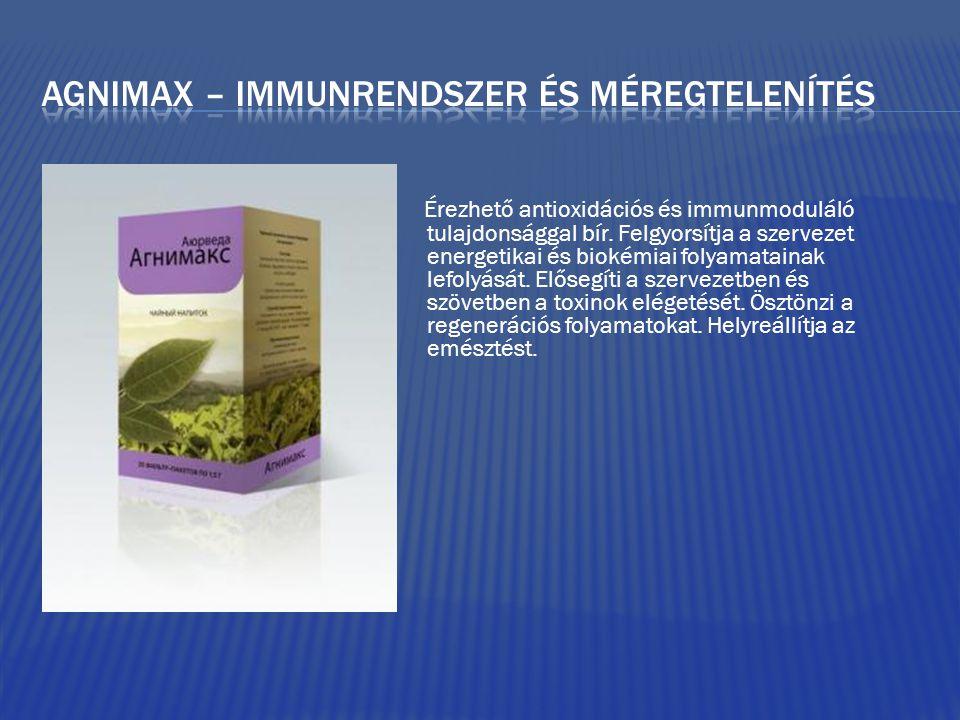 Érezhető antioxidációs és immunmoduláló tulajdonsággal bír.