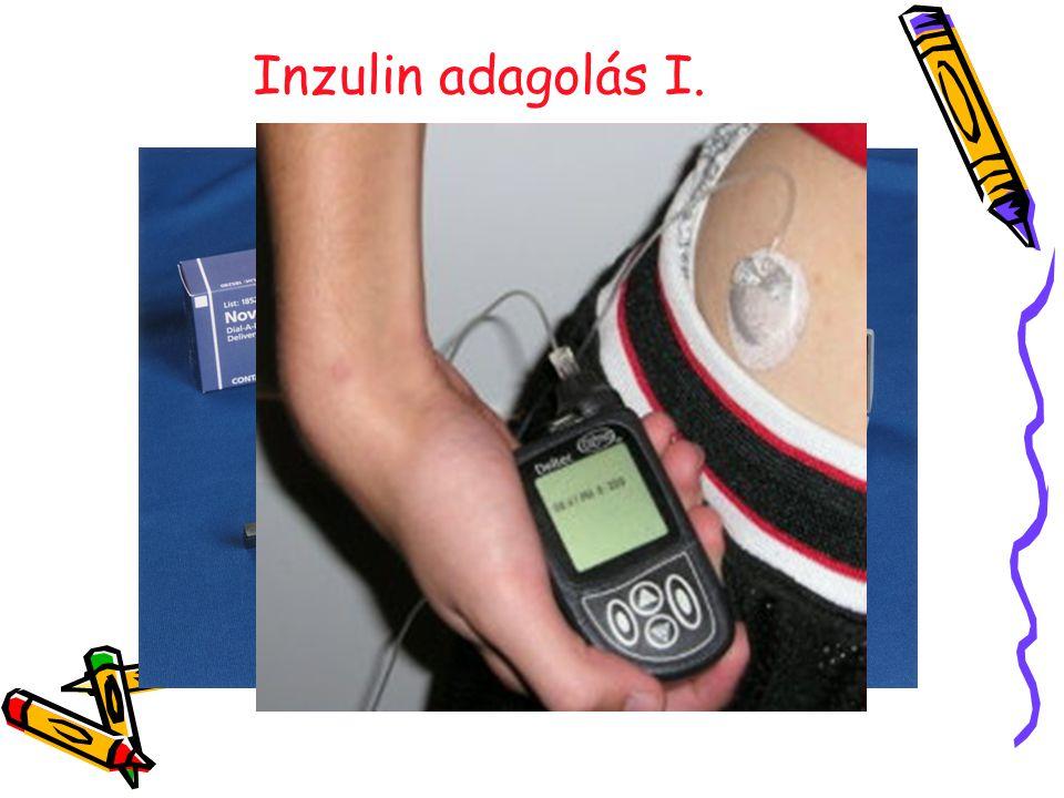 Inzulin adagolás I.