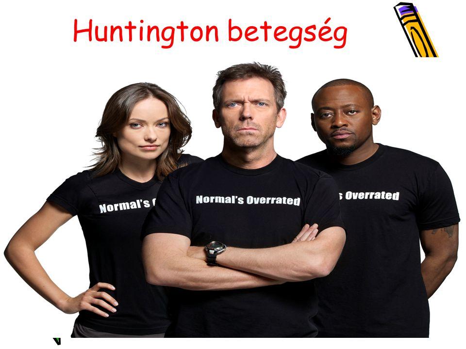 Huntington betegség