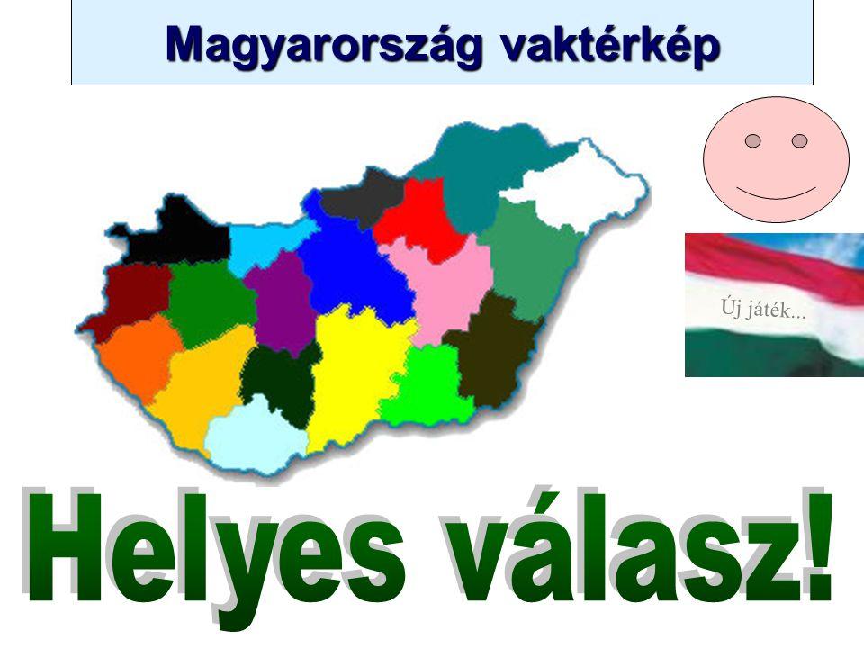 Magyarország vaktérkép Novák Ggergely BV Új játék... 3 2 Békés Kecskemét Szombathely Zalaegerszeg Kaposvár Pécs Győr Székesfehérvár Szeged Békéscsaba
