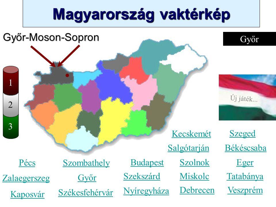 Magyarország vaktérkép Novák Ggergely BV Új játék... Kérlek, válassz egy számot 1 és 20 között: 123456789 11121314151617181920 10 Új játék