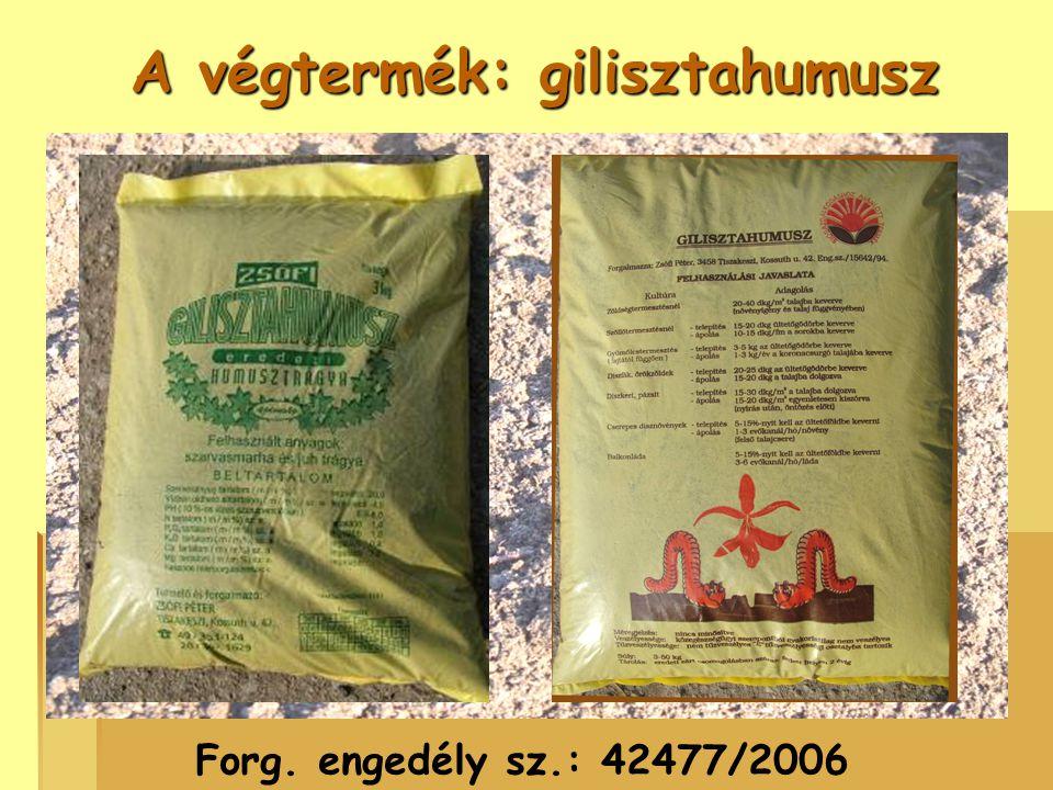 Felhasználási javaslat:  Zöldségtermesztésnél : 20-40 dkg/m 2 talajba keverve  Gyümölcstermesztésnél : 3-5 kg az ültetőgödörbe keverve  Díszkert, pázsit : 15-30 dkg/m 2 a talajba dolgozva  Balkonláda : 5-15%-nyit az ültetőföldbe keverni  Díszfák, örökzöldek :20-25 dkg az ültetőgödörbe keverve