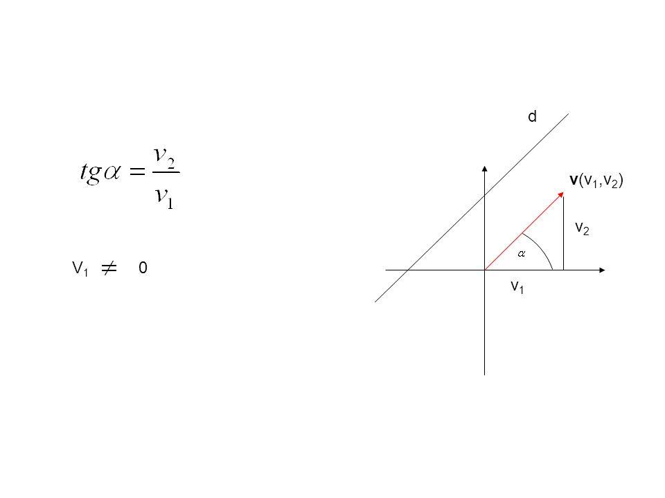 v(x 2 -x 1, y 2 -y 1 ) d P2P2 P1P1 2.