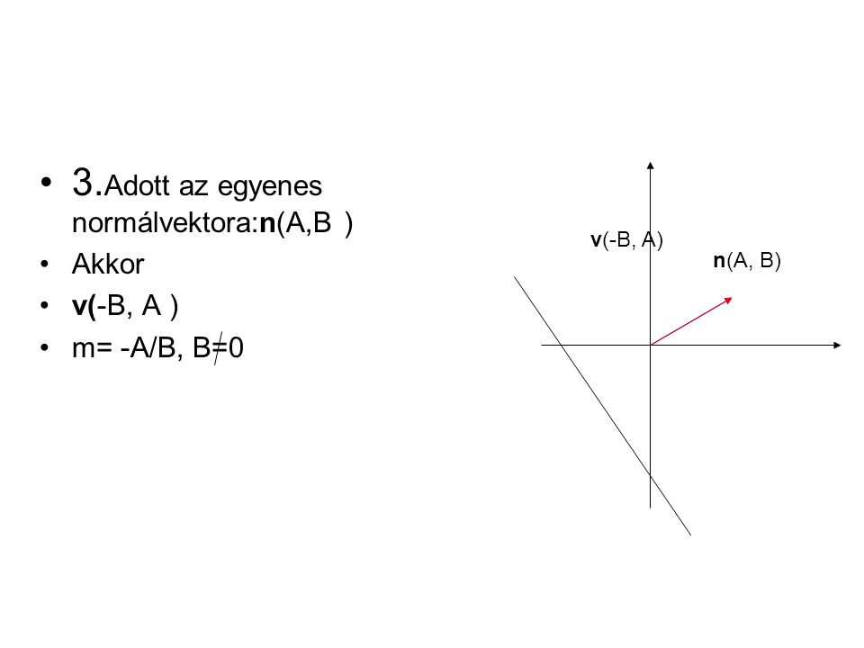 Példák 1.Adottak P(-5, 1) és R(3, 5) pontok.