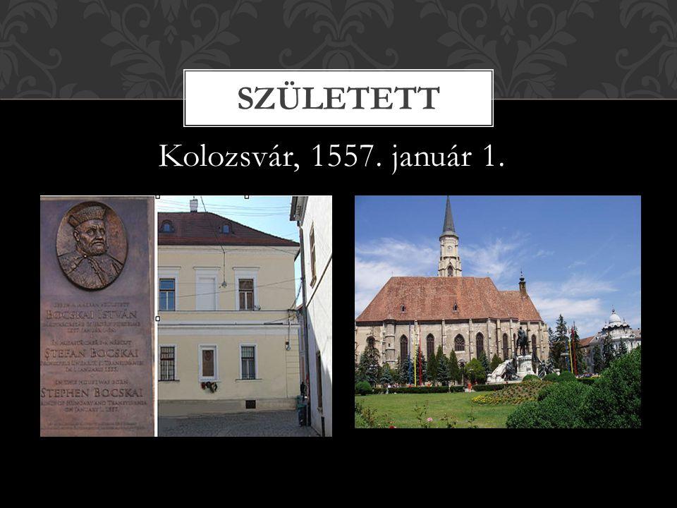 Kolozsvár, 1557. január 1. SZÜLETETT