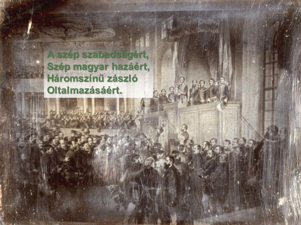 Sok magyar legénynek Most kell elindulni, Sok magyar menyecskét Özvegyen kell hagyni.