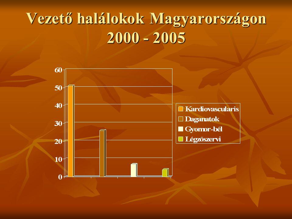 Statisztika 7.1 millió AMI halál/év, 2 millió/év Európában 7.1 millió AMI halál/év, 2 millió/év Európában 65-85 éves korosztályban az összhalálozás 17%-a ISZB eredetű 65-85 éves korosztályban az összhalálozás 17%-a ISZB eredetű Magyarország: összhalál 21%-a (ffi) – 13%-a (nők) Magyarország: összhalál 21%-a (ffi) – 13%-a (nők) Országonkénti eltérések, területi különbségek Országonkénti eltérések, területi különbségek