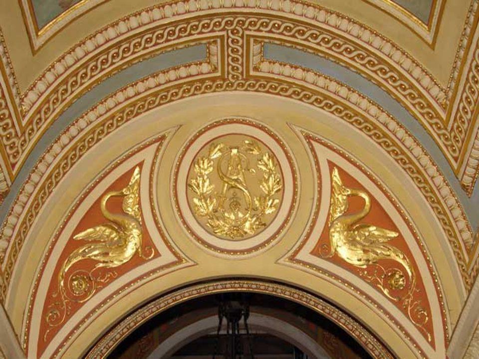 A családi lakosztály a palota első emeletén helyezkedett el.