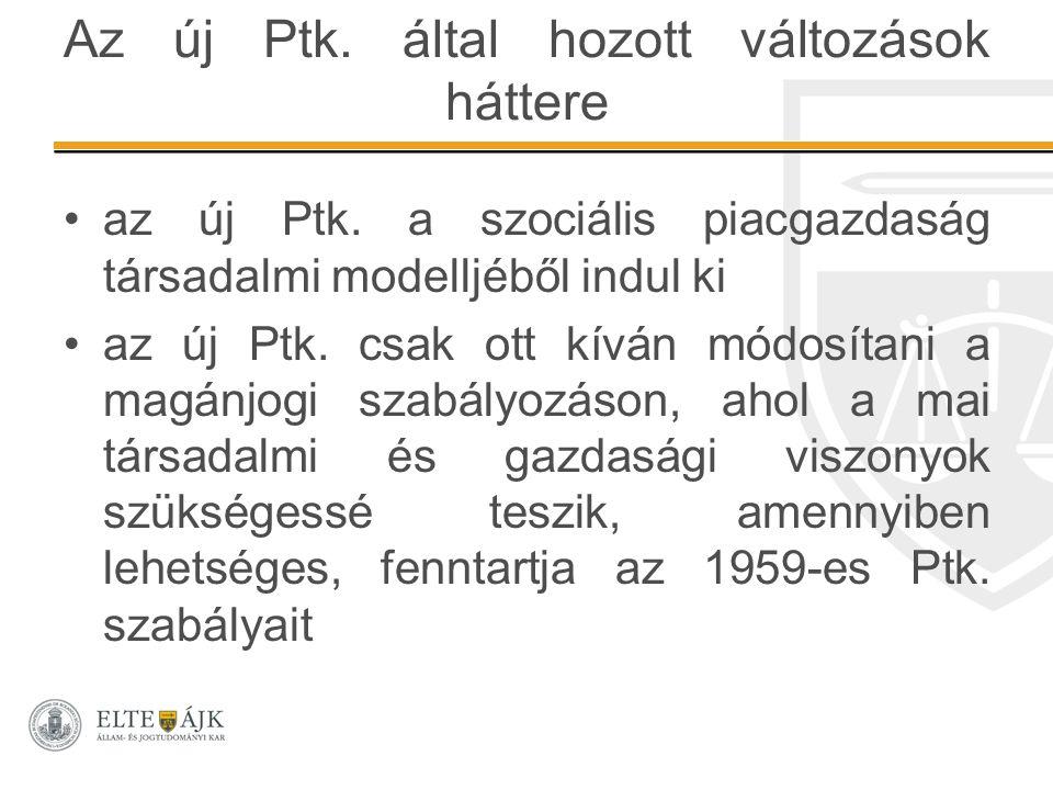 Vállalkozási szerződések I.