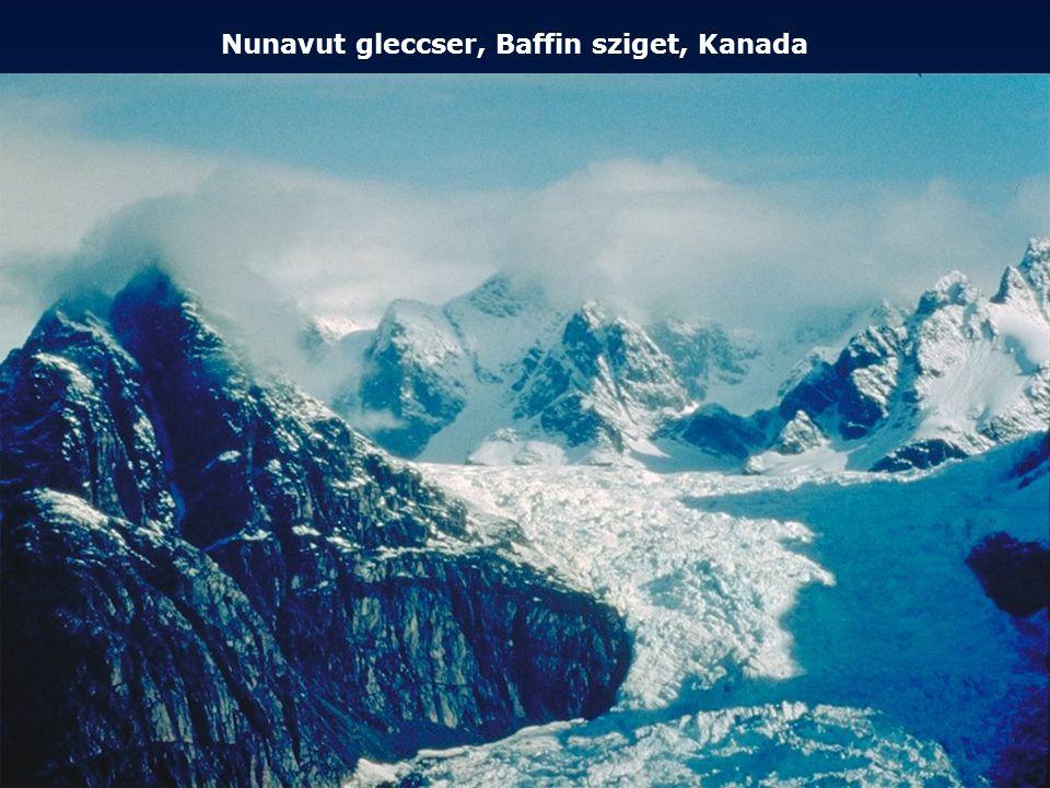 Nunavut gleccser, Baffin sziget, Kanada