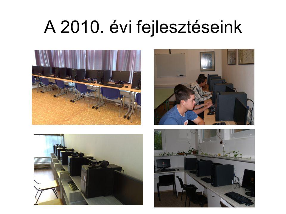 A 2010. évi fejlesztéseink