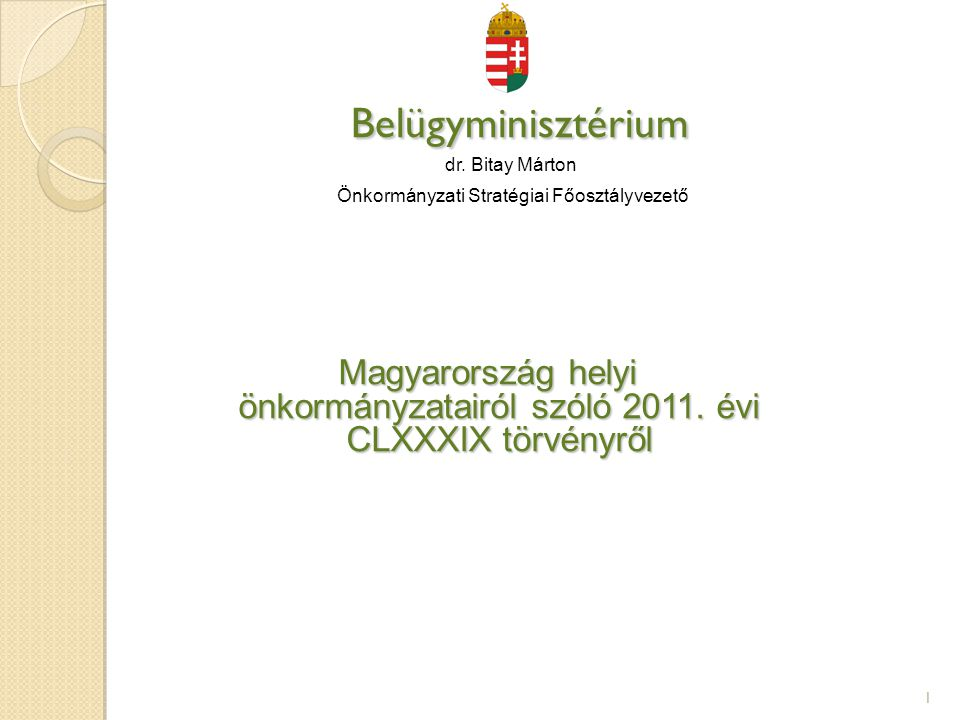 Az önkormányzat gazdálkodása, feladatfinanszírozási rendszere (2013.01.01-től) 12