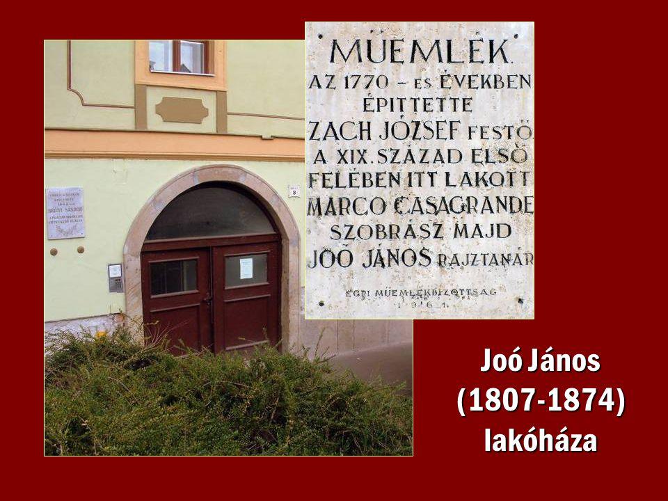 Joó János (1807-1874) lakóháza
