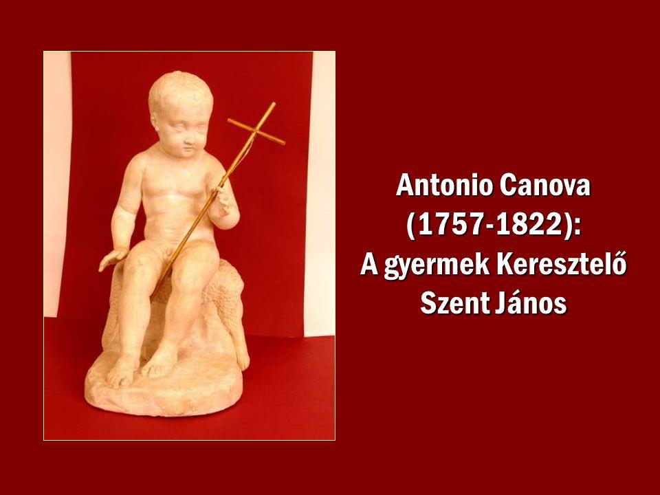 Antonio Canova (1757-1822): A gyermek Keresztelő Szent János