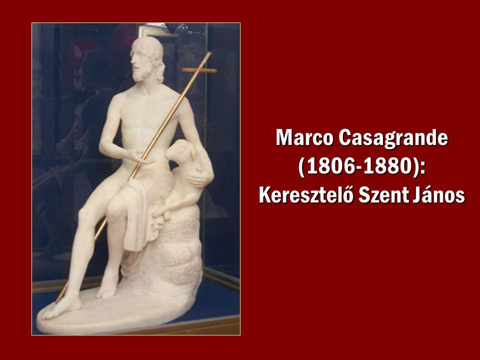 Marco Casagrande (1806-1880): Keresztelő Szent János