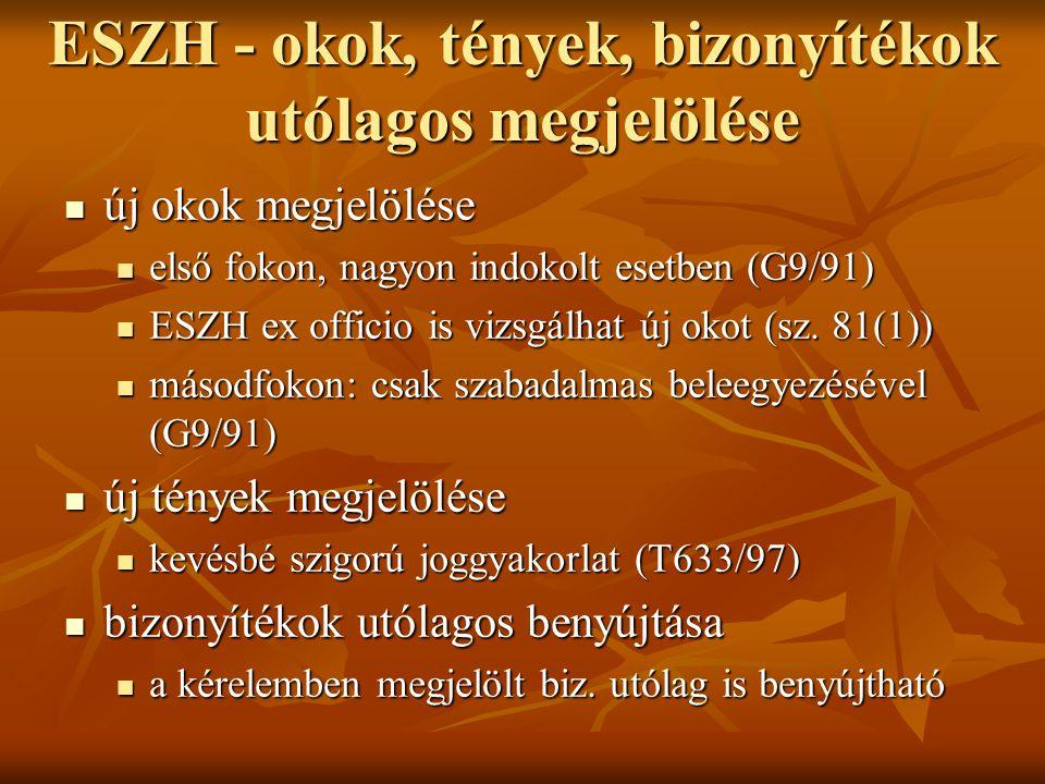 MSZH - Reformatio in peius Pp.