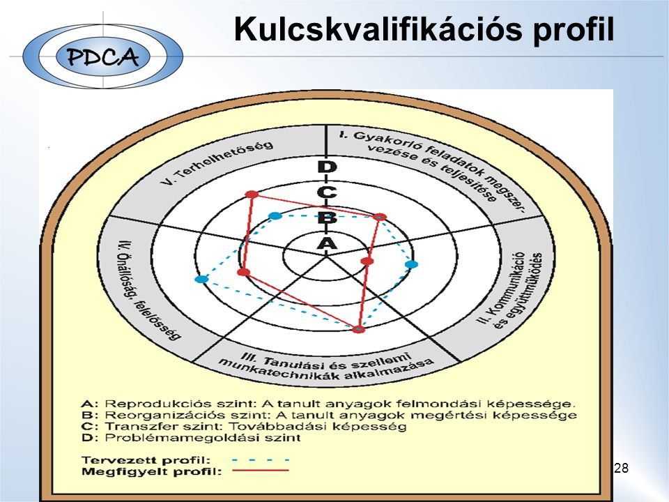 28 Kulcskvalifikációs profil
