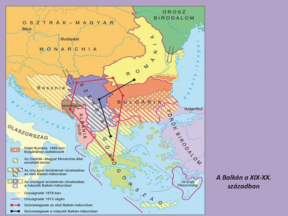 A Balkán a XIX-XX. században