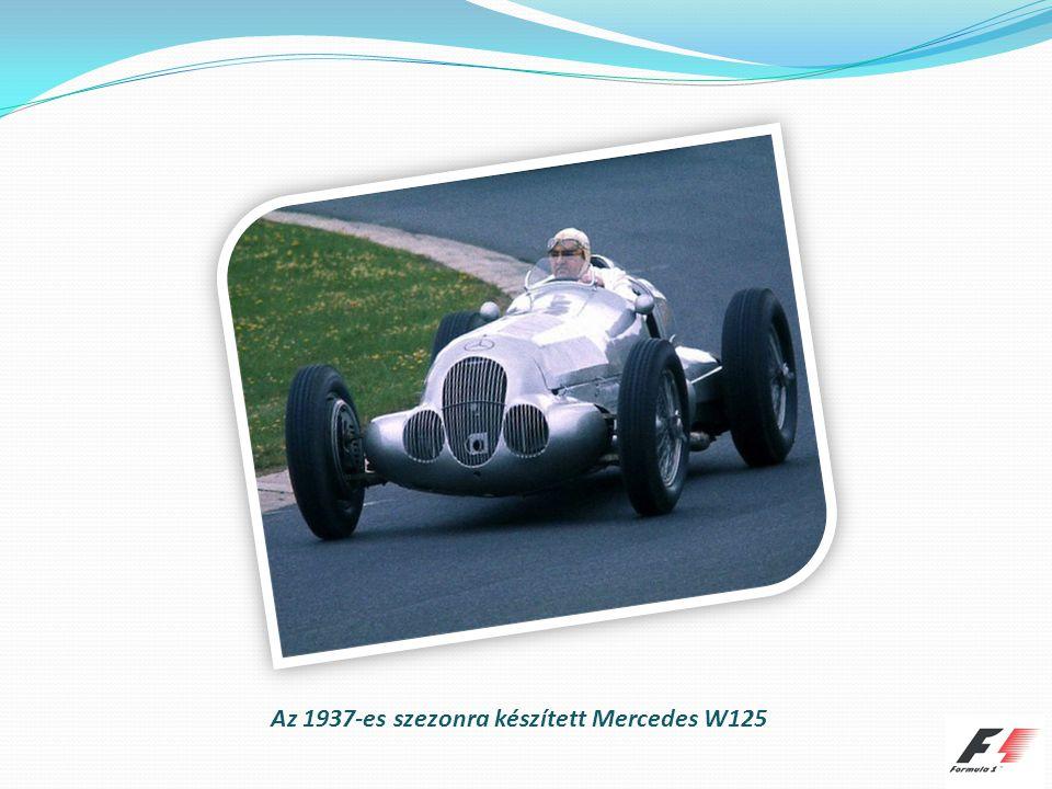 Az 1937-es szezonra készített Mercedes W125