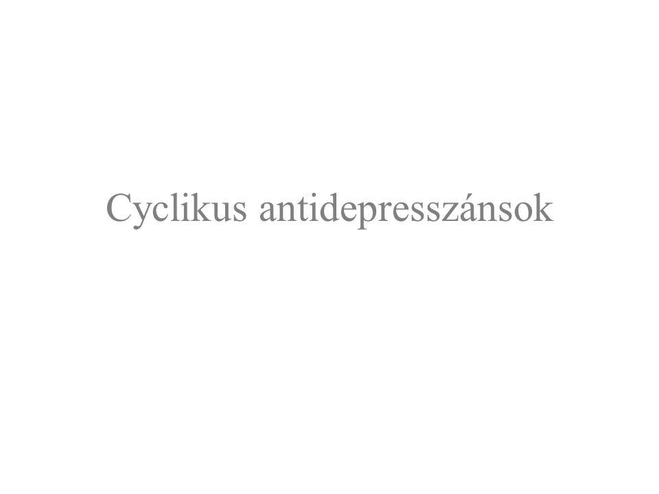 Cyclikus antidepresszánsok