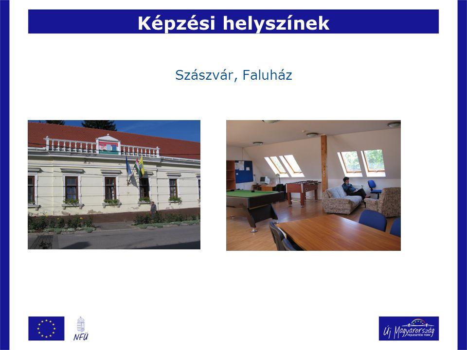Képzési helyszínek Szászvár, Faluház